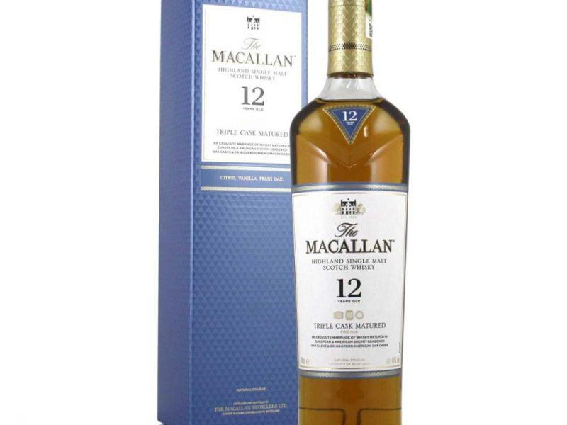 Macallan 12 Tripple Cask